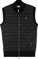 Moncler Maglia Jersey And Shell Gilet