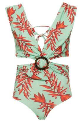PatBO Floral Swimsuit