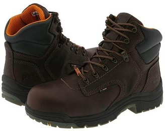 Timberland Titan Waterproof 6 Safety Toe (Dark Mocha) Women's Work Boots