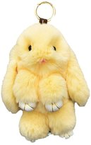 Bunny Keychain Magicub Rabbit Fur Bag Doll Ball Key Ring Pendant Color Random