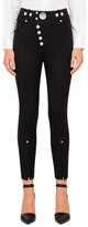 Alexander Wang High Waisted Legging With Multi Snap Button Detail