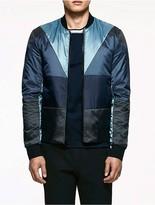 Calvin Klein Platinum Ultra Light Colorblock Jacket