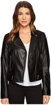 "Andrew Marc Leanne Lightweight Vegan Leather 20"" Jacket"