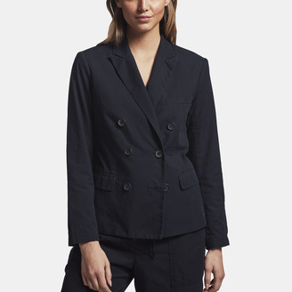 James Perse Vintage Soft Double Breasted Blazer