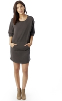 Alternative Street Cred Weathered Wash Lightweight French Terry Dress