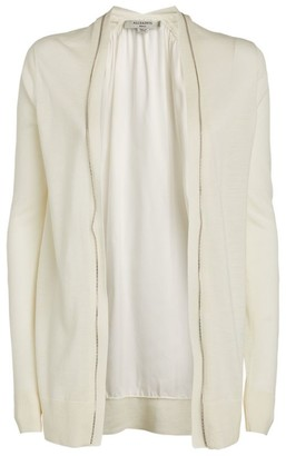 AllSaints Jamie Zip- Up Cardigan