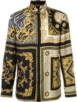 Versace Signature print shirt