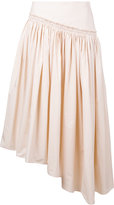 Lemaire gathered skirt - women - Cotton - 36