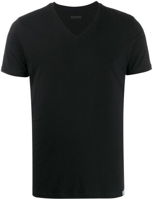 Diesel V-neck short sleeve T-shirt