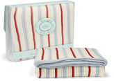 NEW Branberry Striped Cot Blanket