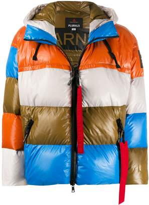 Peuterey colour block padded jacket