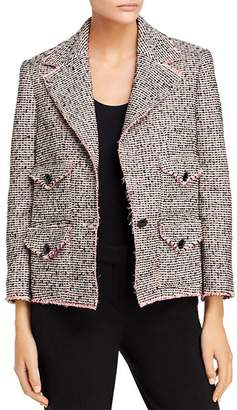 Rebecca Taylor Josie Bouclé Tweed Jacket