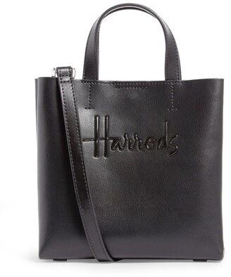 Harrods Mini Leather Kensington Bag