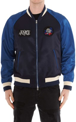 Alexander McQueen Embroidered Bomber