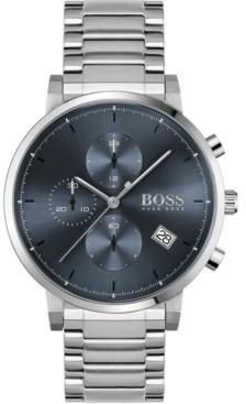 BOSS Men's Chronograph Integrity Stainless Steel Bracelet Watch 43mm