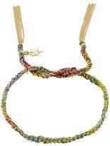 Carolina Bucci Woven Tassel 18kt Gold Bracelet