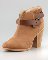 Rag & Bone Harrow Leather-Strap Bootie
