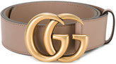 Gucci double G buckle belt - women - Leather - 85