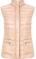 Gerry Weber Quilted Gilet, Nude