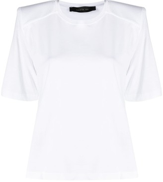 FEDERICA TOSI Short-Sleeved Cotton T-Shirt