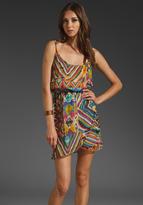 Love Sam Petal Wrap Dress