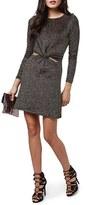 Topshop Women's Cutout Knot Skater Dress