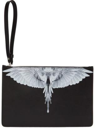 Marcelo Burlon County of Milan Black Wings Pouch