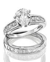 Fashion World Sterling Silver & Cubic Zirconia Ring