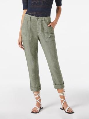 Frame Le Beau Linen Pant