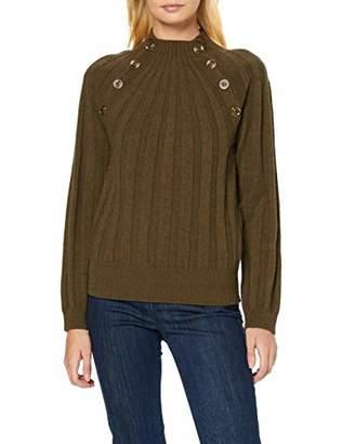 Sisley Women's Sweater L/s Jumper,Small