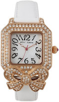 Betsey Johnson Crystal Bowtastic Watch