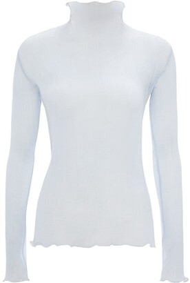 J.W.Anderson Pleated Frilled Top
