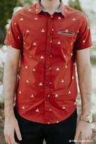 Forever 21 FOREVER 21+ Triangle Print Shirt