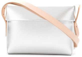 Gloria Coelho Plastic Bag With Leather Straps