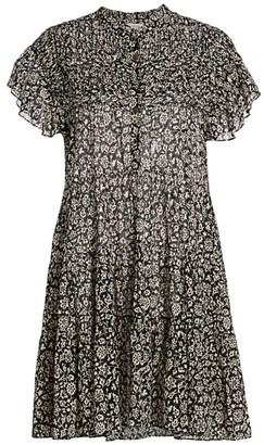 Etoile Isabel Marant Lanikaye Floral A-Line Shirtdress