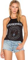 Daydreamer Ramones Seal Halter Tank