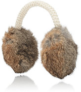 Hat Attack WOMEN'S FUR EARMUFFS-TAN