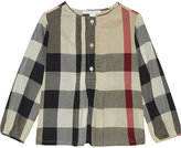 Burberry Brea cotton blouse 4-14 years