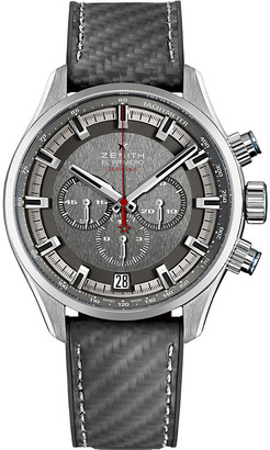 Zenith 03.2282.400/91.R578 Chronomaster El Primero Land Rover Bar Team stainless steel and rubber watch