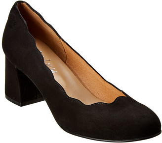 French Sole Trini Suede Pump