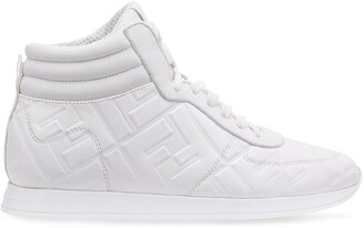 Fendi embossed FF motif sneakers