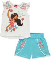 "Disney Elena of Avalor Little Girls' ""Life Is an Adventure"" 2-Piece Outfit"