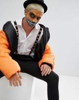 7x Halloween Pumpkin Braces