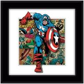 Marvel Heroes Captain America Panels Framed 5D Photo