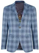 Etro Wool Check Jacket
