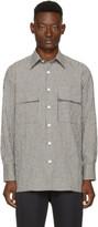 Wales Bonner Black and White Isaiah Shirt
