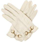 Gucci Leather Horsebit Gloves