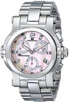 Oceanaut Women's OC0721 Baccara Analog Display Quartz Silver Watch