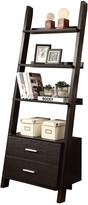 Monarch Ladder Bookcase With Storage