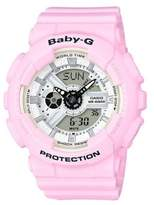 G-Shock Baby-G Resin Analog-Digital Pink Strap Watch